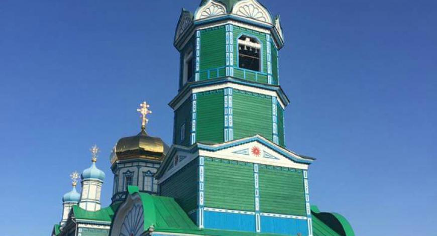 Михаило-Архангельск собор г. Рубцовск