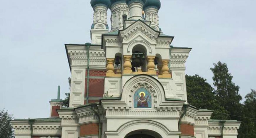 Гатчина, Покровская церковь!