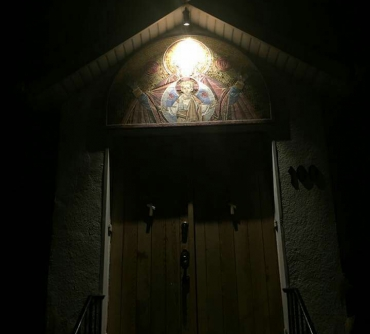 Церковь в честь Св. Патриарха Тихона и Новомучеников Российских в Кембридже, Онтарио, Канада.