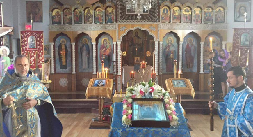 All Saints Russian Orthodox Churh Calgary