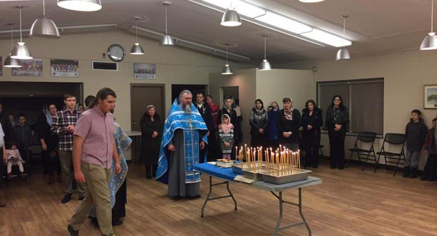 Православная община в Ред-Дире( Альберта, Канада).