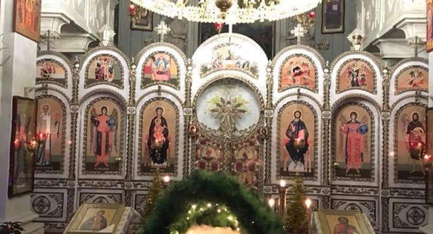 Пьяченцы, Италия. Церковь трёх святителей Василия Великого, Григория Богослова и Иоанна Златоуста.