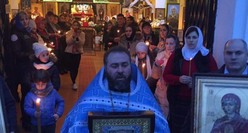 Падуя, Италия, ц. Рождества Пресвятой Богородицы.