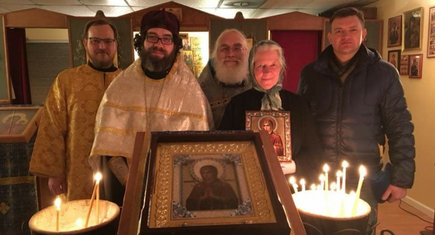 Visitation to Holy Apostles of the Holy Icon of the Mother of God, Softener of evil hearts