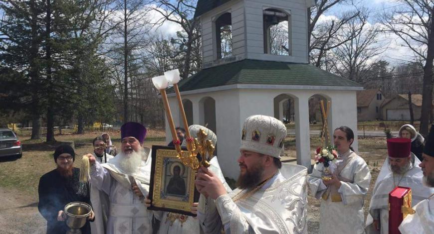 Покровский скит в месте, которое местные русские называют Новой Кубанью.