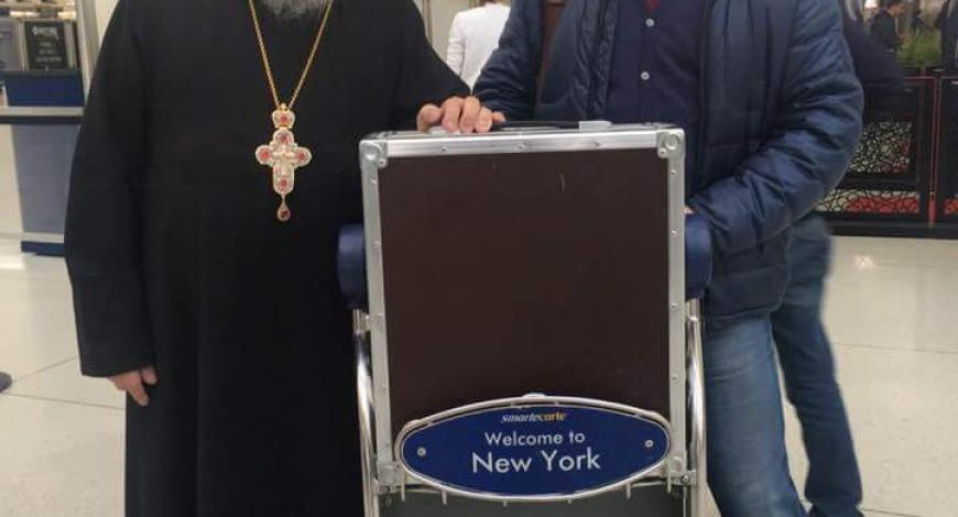 Икона Божией Матери отбывает в Москву.