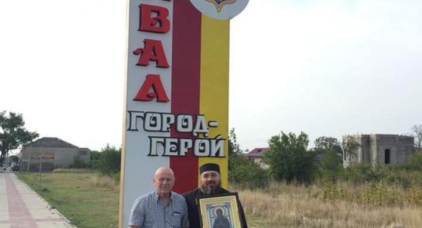Южная Осетия. Свято-Троицкая церковь (строится)