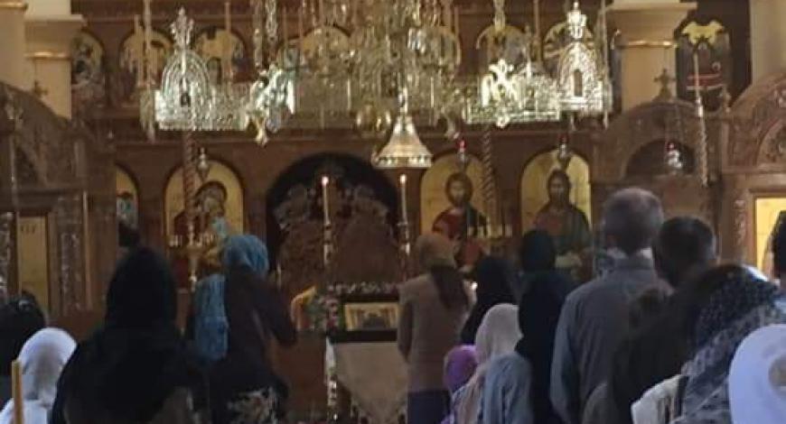 Попрощались с монастырём Св. Паисия Величковского в Аризоне и его гостеприимными насельницами. Летим в Лас-Вегас. Город, где есть семь православных церквей. Мы в ц. Всех Святых (ROCOR).