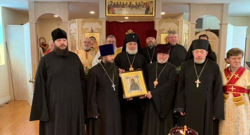 Престольный праздник в ц. Свт. Тихона и новомучеников российских в Ватерлоо, Онтарио,Канада.