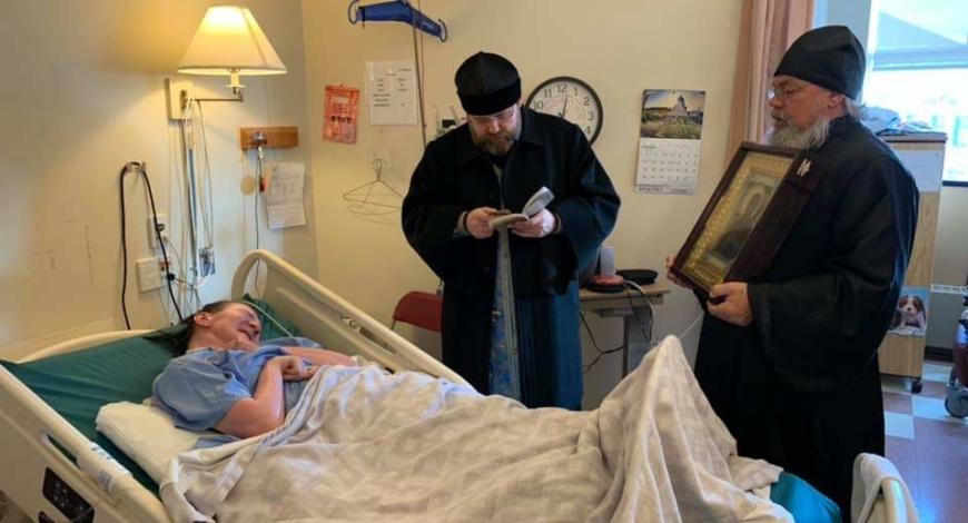 Епископ Орехово-Зуевский Пантелеимон: «Со священником в больницу приходит Сам Христос.