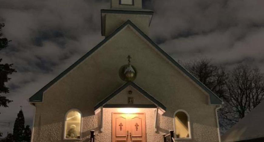 Православная церковь (РПЦЗ) в Виннипеге, Канада. Настоятель игумен Рафаил