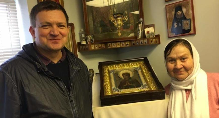 Пасха 2019. Джорданвилль, в Свято — Троицком  монастыре.