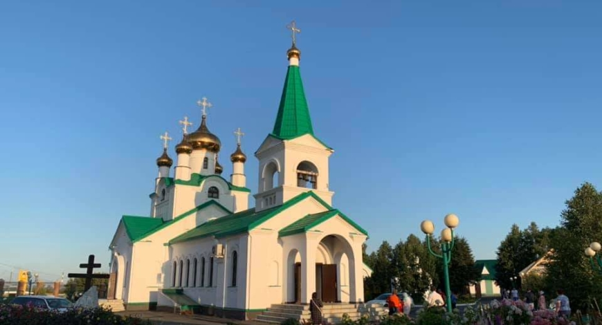 Вознесенская церковь г. Заринска.
