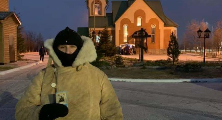 Русский Север. Монахиня