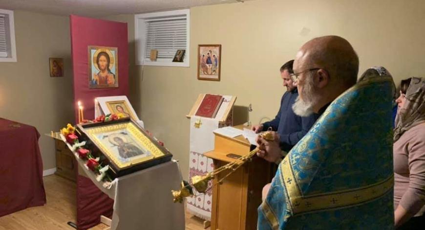 Миссионерский приход Св. Апостолов, г. Бэри. Приход только ещё организуется.