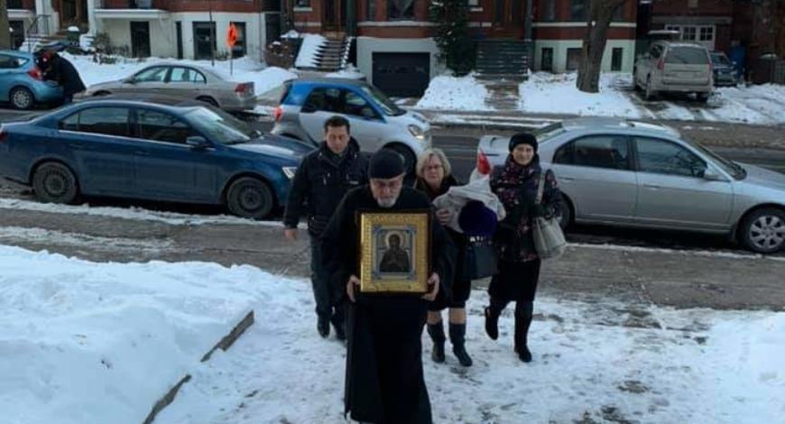 Монреаль, Канада. Свято-Никольский собор.